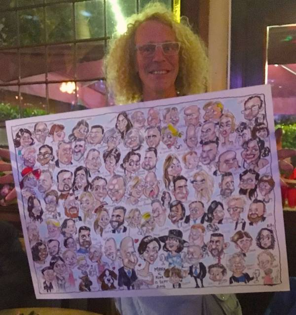 big board caricatures